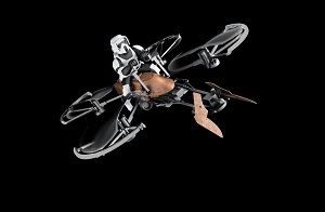 Star Wars Speeder Bike Remote Controlled Drone