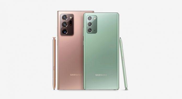 Samsung Galaxy Note 20 dan Note 20 Ultra