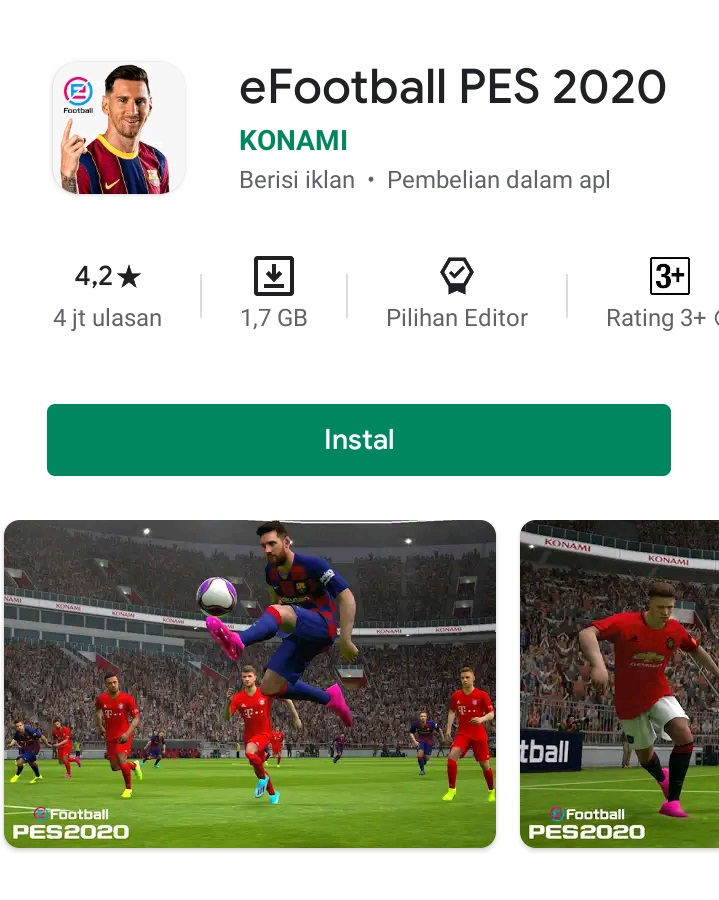 eFootball PES 2020 Mobile Gaming