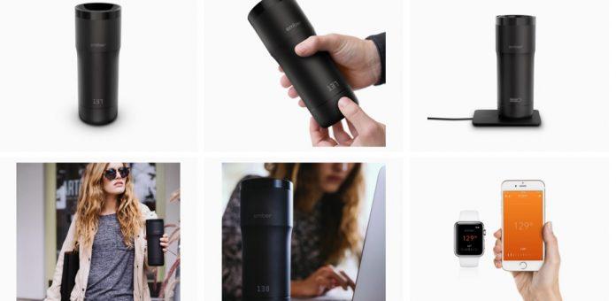 Ember Temperature Control Travel Mug Black App Controlled Heated Coffee Travel Mug