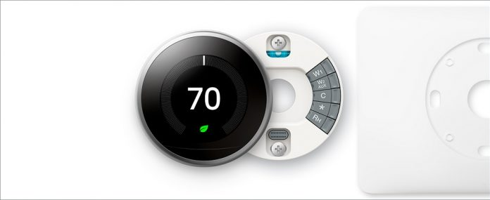 Google Nest Learning Thermostat - Programmable Smart Thermostat for Home - 3rd Generation Nest Thermostat - Works with Alexa - [Stainless Steel]